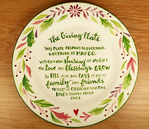 Merivale The Giving Plate